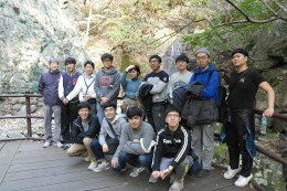 Gapsa Temple in Gyeryong Mountain 2015.10.30